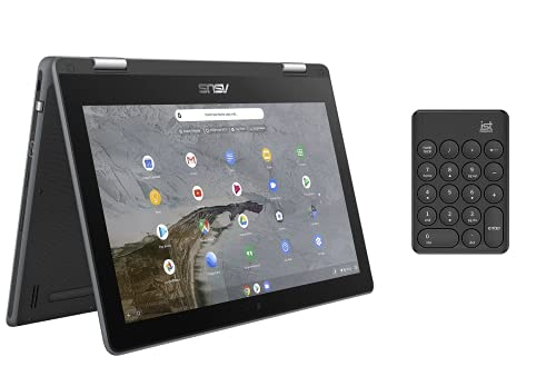 """best sleeves for asus chromebook flip c214 in 2021 2021 ASUS Chromebook Flip C214 2-in-1 Laptop-11.6"""" Ruggedized, Spill Resistant Design Touchscreen (Intel N4000, 4GB RAM, 32GB Storage W/ IST Computers Wireless Numeric Keypad) Type-C, Chrome OS,"""