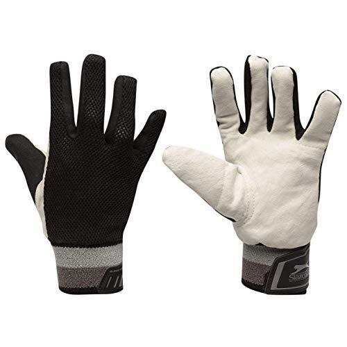 Slazenger Kinder Elite Pro InnerYth92 Cricket-Handschuhe, Schwarz