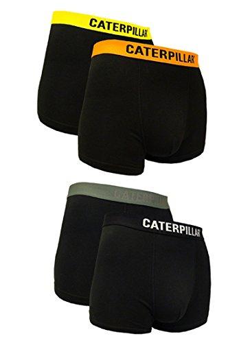 Caterpillar CAT 4 Stück Boxershorts, TOP Farbauswahl in Camouflage, Fluo-Neon-Design, Classic verfügbar in M/L/XL/XXL (XXL/8/54, Farbmix 7)