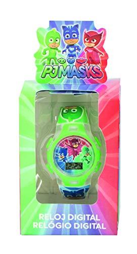 PJ Masks Joy Toy LCD Uhr mit LED Licht in originaler Geschenkverpackung