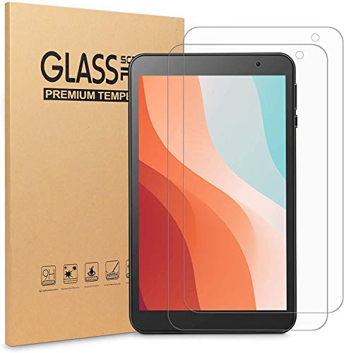 VANKYO Tablet Glass Screen Protector for VANKYO MatrixPad S8 8 inch Tablet, Tempered Glass High Definition/Scratch Resistant(2 Pack)