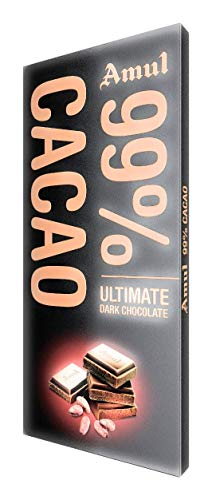 Amul 99% Cacao Chocolate 125g Pack of 2