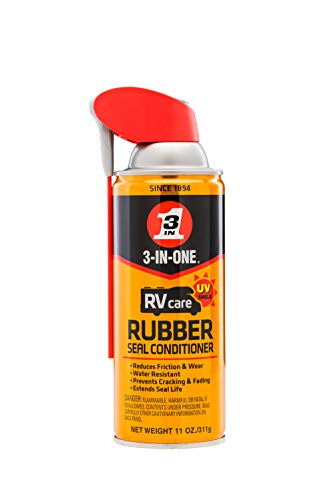 3-IN-ONE-120138-C RV Care Rubber Seal Conditioner Pack of 6