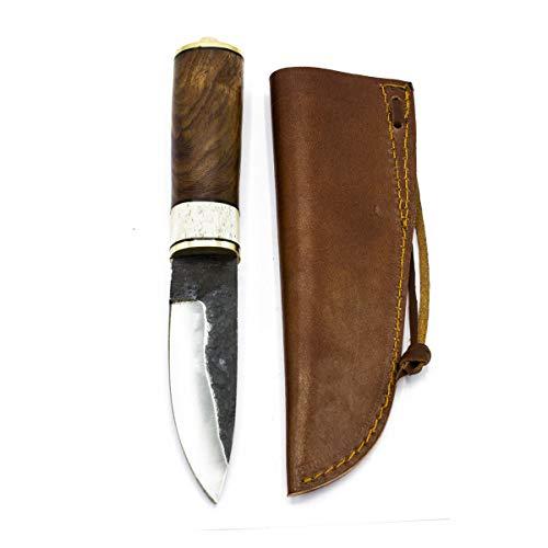 Vehi Mercatus Wikinger Messer Gotland mit Lederscheide ESS- und Gebrauchsmesser