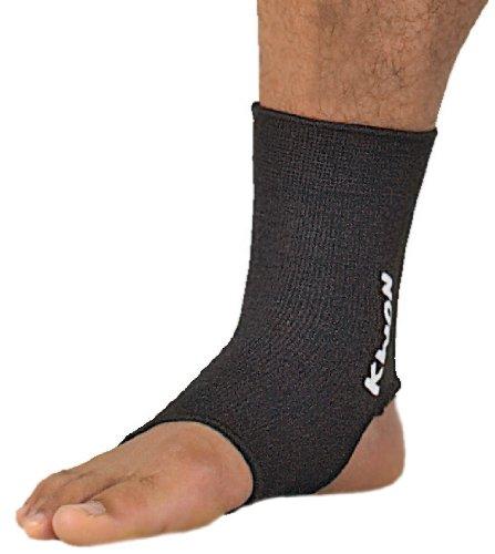 KWON Uni Elastische Fußbandage, schwarz, M, 4051702