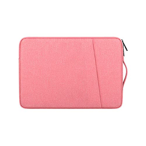 drolpt Laptop Bags Notebook Pouch Briefcase Case Laptop Air Laptop Pro Redmibook 14 11 12.5 13.3 15 Inch Handbag Sleeve (Color : Pink, Size : Fit 11-13.3 inch)