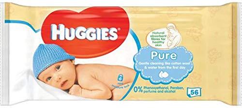 HUGGIES BABY WIPES PURE 56