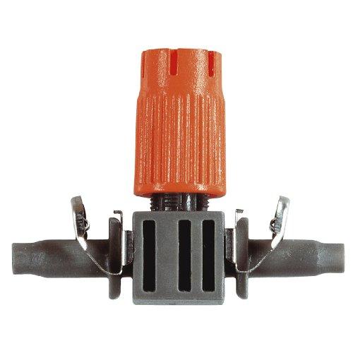 Gardena Micro-Drip-System Kleinflächendüse: Sprühdüse mit ZollQuick & Easy Zoll-Verbindungstechnik, regelbare Reichweite 10-40 cm, 10 Stück (8321-20)