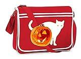Bolso para colgar del hombro para Halloween Animal gato Jack – Bolso bandolera adecuado para escuela...