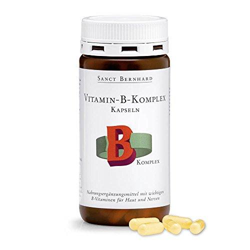 Vitamin-B-Komplex-Kapseln mit Niacin, Vitamin B1,B2,B6,B12, Folsäure 150 Kapseln