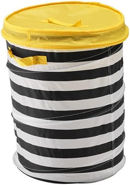 IKEA Basket With Lid Yellow 828 82626 1026