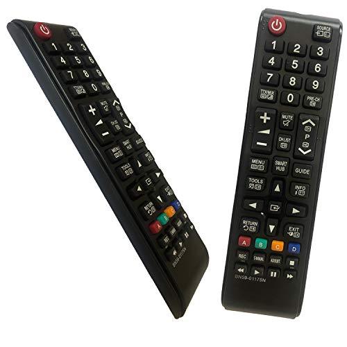 iLovely Nuevo Mando Samsung BN59-01175N Mando a Distancia para Samsung TV LED LCD UA85JU7000W UA88JS9500W UE55HU7200U UN32H5500AF UN32H5500AFXZA UN32H6350AF UN32H6350AFXZA UN40H5500AF UN40H5500AFXZA