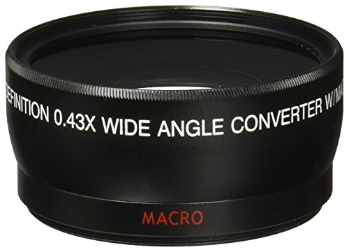 Vivitará 4358W 0.43X 58mm Wide Angle Lens,Black