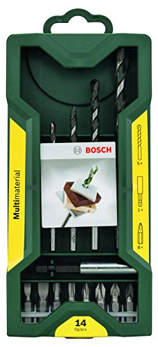 Bosch 14-delige Mini-X-Line universele boorset