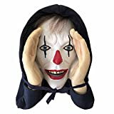 QINGYII Halloween Scary Peeper - Peeping Tom Window Prank, Indoor and Outdoor Window Hanging Mask, Scary Peeper Giggle, Novelty Decor for Haunted House (A)