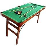 HLC ビリヤードテーブル 折りたたみ式 ボール付き
