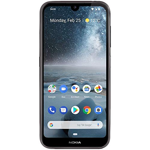 "Nokia 4.2 with Android One (32GB, 3GB) 5.71"" HD+ Display, 13MP Dual Camera, GSM Unlocked (at&T/T-Mobile/MetroPCS/Cricket/H2O) Global 4G LTE International Model TA-1149 (Black, 32 GB)"