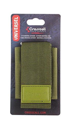 Crosscall HA.CA.KA000 - Custodia per Crosscall Discovery/Trendy/Shark V2/Wild/Odyssey +/Spider X1, colore: verde kaki