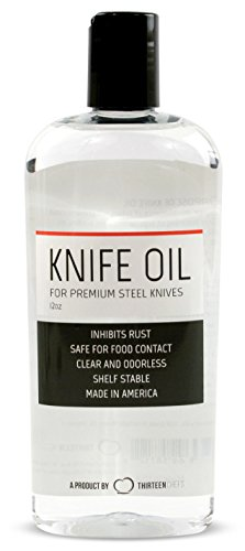 Thirteen Chefs Honing Knife Oil