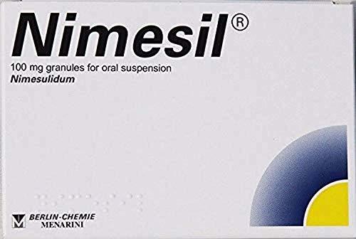 Nimesil 30 Beutel à 2 g, 100 mg, sofortige Schmerzlinderung bei Zahnschmerzen, Muskelschmerzen
