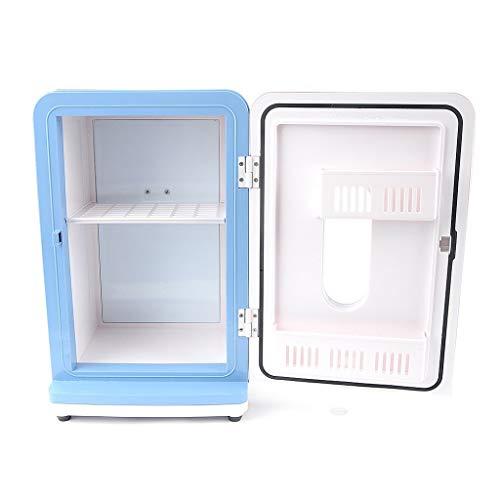 MUMUMI Ahorro de Energía 12L Mini Refrigerador Mini Refrigerador Y Más Cálido