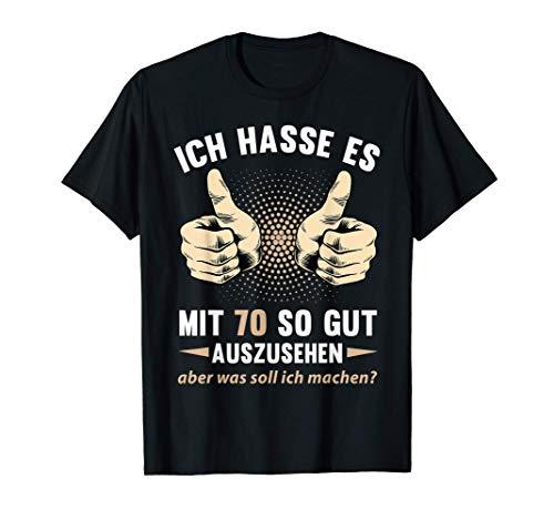 70. Geburtstag Damen Herren 70 Jahre Jahrgang 1951 Geschenk T-Shirt