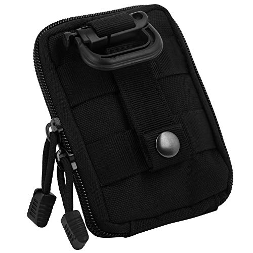 Demeras Fashion Chest Bags Durable Outdoor Streetwear Strap Vest Chest Bags Adjustable Shoulder Bag Sports Chest Bag for Cycling,Walking for Running, Walking,Hiking(black)