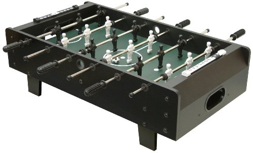Photo of Mightymast Leisure 3ft MINI KICK Table Top Kids / Adults Table Football Foosball, Black