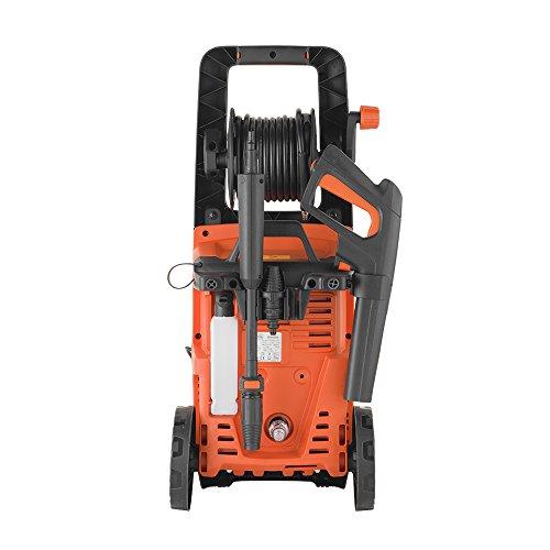 Black+Decker BXPW2200PE Idropulitrice ad Alta Pressione 150 bar, 440 l/h, con Patio Cleaner e Spazzola Fissa, 2200 W