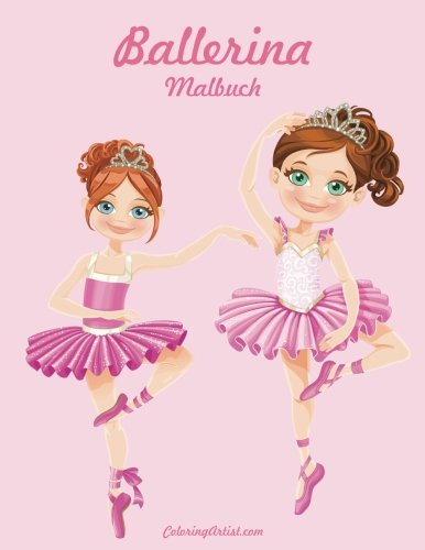 Ballerina Malbuch 1