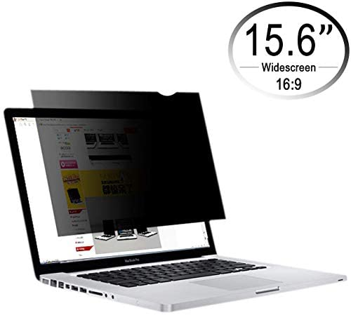 CenterZ 15 6 inch 16 9 Laptop Screen Privacy Filter Removable Reusable Antiglare 60 Visible product image