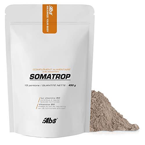 Somatrop *450g * Estimula la producción de SOMATOTROPINA (hormona del crecimiento) * mejora la masa muscular * Fabricado en Bélgica