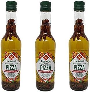 3 x Lesieur Pizza-Öl Hot & Spicy - Huile Spéciale Pizza Pimentée 3 x 500 ml Frankreich