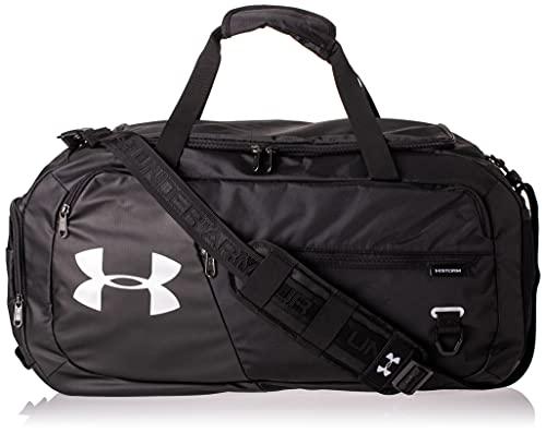 Under Armour Sportstyle Logo Tank, sportliches Muskelshirt aus superweichem Stoff, ärmelloses Sportshirt mit loser Passform Herren, White / Black, XS