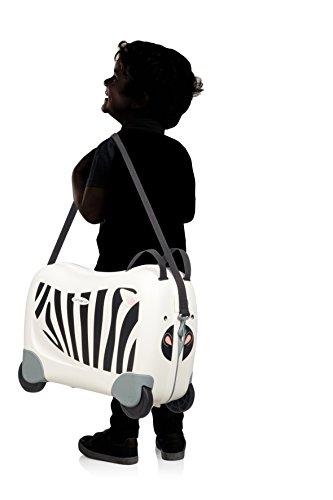 Samsonite Dream Rider - Kindergepäck, 51 cm, 28 L, Weiβ (Zebra Zeno) - 6