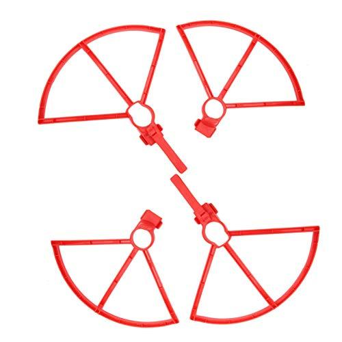 Drone Blade Protector Design a sgancio rapido Proteggi i pezzi di ricambio del drone dell elica con un design strombato per Hubsan Zino H117S(red)