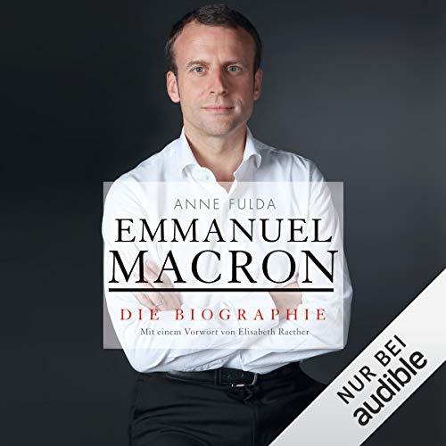 Emmanuel Macron audiobook cover art
