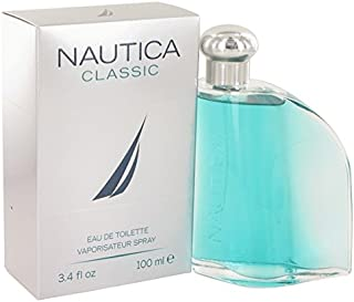 Nautica Classic Eau de Toilette Spray for Men, 3.4 Ounce