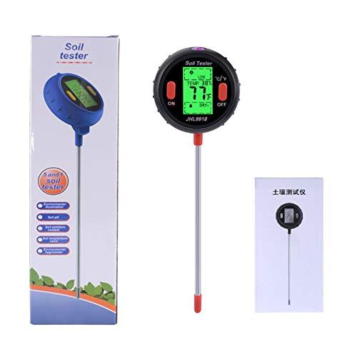 Ballylelly 5 1 Detector pH Suelo Detector Temperatura