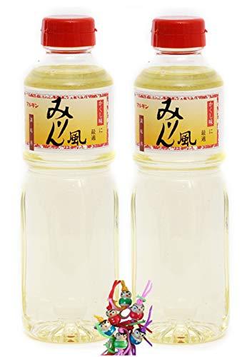 yoaxia ® - 2er Pack - [ 2x 500ml ] Mirin japanischer süßer Reiswein zum Kochen MARUKIN + ein kleines Glückspüppchen - Holzpüppchen