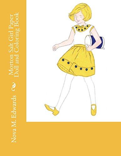 Morton Salt Girl Paper Doll and Coloring Book -  Edwards, Nova M., Paperback