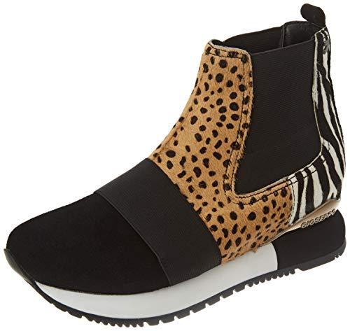 Sneakers Estilo botín con Mix de Prints para Mujer SAROV
