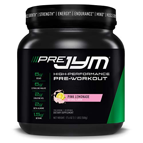 JYM Supplement Science Pre 20 Servings Pink Lemonade