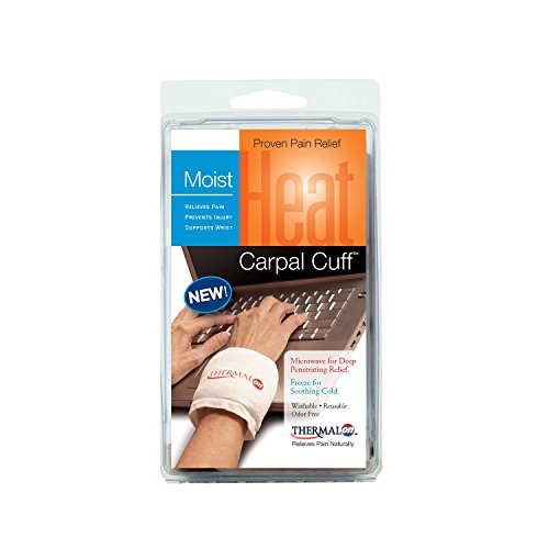 Thermalon Microwave Activated Moist Heat-Cold Carpal Cuff (Pack of 2)