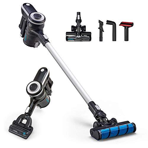 Cordless Vacuum Cleaner 2 in 1, Simplicity Lightweight Vacuum Cleaner for Hardwood Floors and Carpet (Renewed)