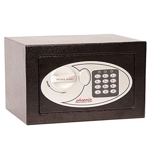 Cajas Fuertes para gabinetes Cajas FuertesCaja Fuerte electrónica Digital para la Oficina en el hogar mostrador de Monedas diseño de Anclaje en el Piso en la Pared Caja Fuerte para Dinero en