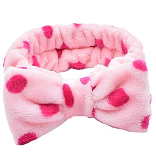 Bongles Frauen Flanell-stirnband-kreuz-bogen-knoten Haarband-elastische Haar-verpackungs-band Für Wash Gesicht Make-up Entferner Für Female