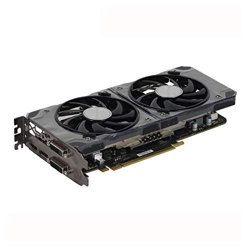 RKRLJX Tarjeta Grafica Tarjeta Raphics GPU Tarjetas DE GRÁFICOS Fit For XFX R9 380 4GB 256bit GDDR5 Tarjeta De Video Fit For AMD R9 300 Series Tarjetas DisplayPort HDMI DVI