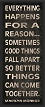 sometimes things fall apart quotes by marilyn monroe