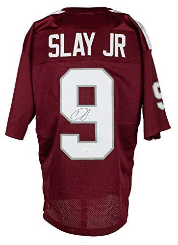Darius Slay Signed Custom Maroon College Style Football Jersey JSA ITP - Autographed NFL Jerseys